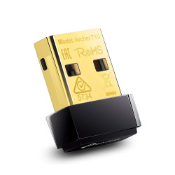 TP-Link Archer T1U Nano Adaptateur USB Wi-Fi AC 450Mbps transmet sur la bande 5GHz exclusivement
