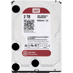 Western Digital WD20EFRX Disque dur interne 8.9 cm (3.5 pouces) 2 To Red™ Bulk SATA III