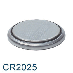 PILES BOUTONS CR2025...