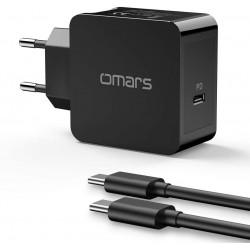 Omars Chargeur Secteur USB...