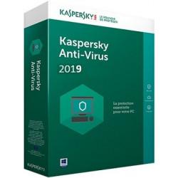 KASPERSKY ANTIVIRUS 2019 3 PC 1 AN