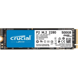 NVMe Crucial 500GO P2 M2 SSD