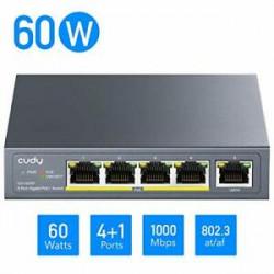 Cudy GS1005P  Switch PoE+ 5...