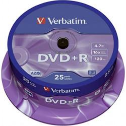 Verbatim - Disque DVDR -...