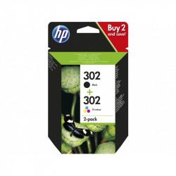 HP 302 - Pack de 2 - noir,...