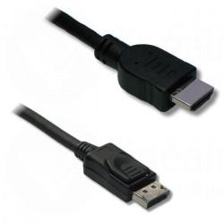 Cordon DisplayPort/HDMI M/M...
