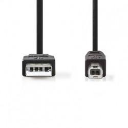 NEDIS Cordon USB 2.0 A-B...