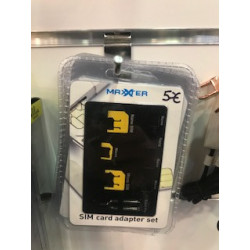 Adaptateur Carte SIM Set...