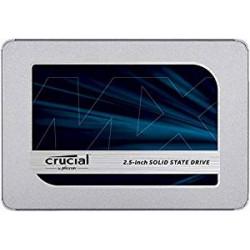 Crucial CT500MX500SSD1 SSD interne MX500 (500Go, 3D NAND, SATA, 2,5 pouces)