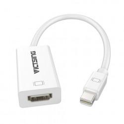 VicTsing Mini Displayport vers Adaptateur HDMI Vidéo HDTV Convertisseur pour MacBook Air et Plus