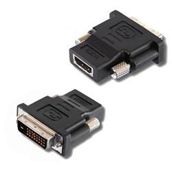Adaptateur HDMI Femelle - DVI24-D Mâle