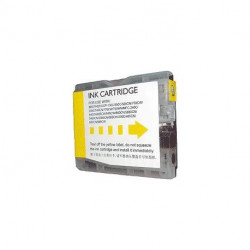 Cartouche jaune compatible Brother LC1000Y