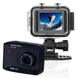 Pnj Cam Caméra Full HD Sport DV 50 avec Ecran LCD Intégré