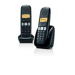 Gigaset A250 DUO Téléphone sans fil Dect/Gap Noir