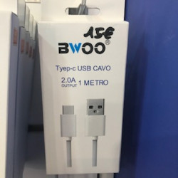 Bwoo cable usb-c 2a 1m