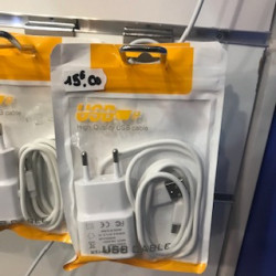 Pack cable usb-c alim 1a