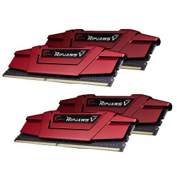 Mémoire PC - G.Skill RipJaws 5 Series Rouge 16 Go (4x 4 Go) DDR4 2800 MHz CL15