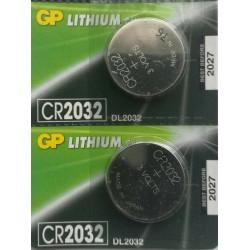 Piles Lithium Cr2032 3 volts