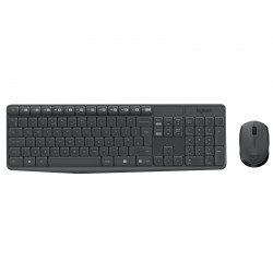Pack Clavier/Souris Logitech Wireless MK235 AZERTY
