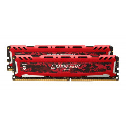 kit 16GB DDR4-2666MHz Crucial Ballistix Sport LT Red CL 16 SRx8