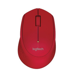 Logitech M280 Wireless Gaming Mouse rouge 10M Range