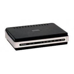 Routeur FAST ETHERNET 4PORTS D-LINK DIR-120 + PRINT SERVER