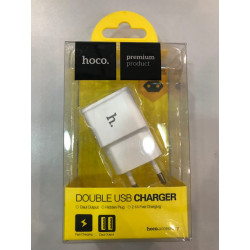 Hoco double chargeur usb 1A