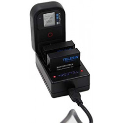 TELESIN Multi-Charger for GoPro Hero4 AHDBT-401 Battery & WiFi Remote Control